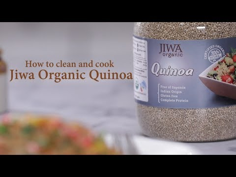 Learn How To Clean & Cook Quinoa | Organic Quinoa By Jiwa Foods