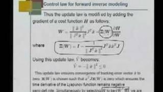 Mod 3 Lec 4 Indirect Adaptive Control of a Robot manipulator