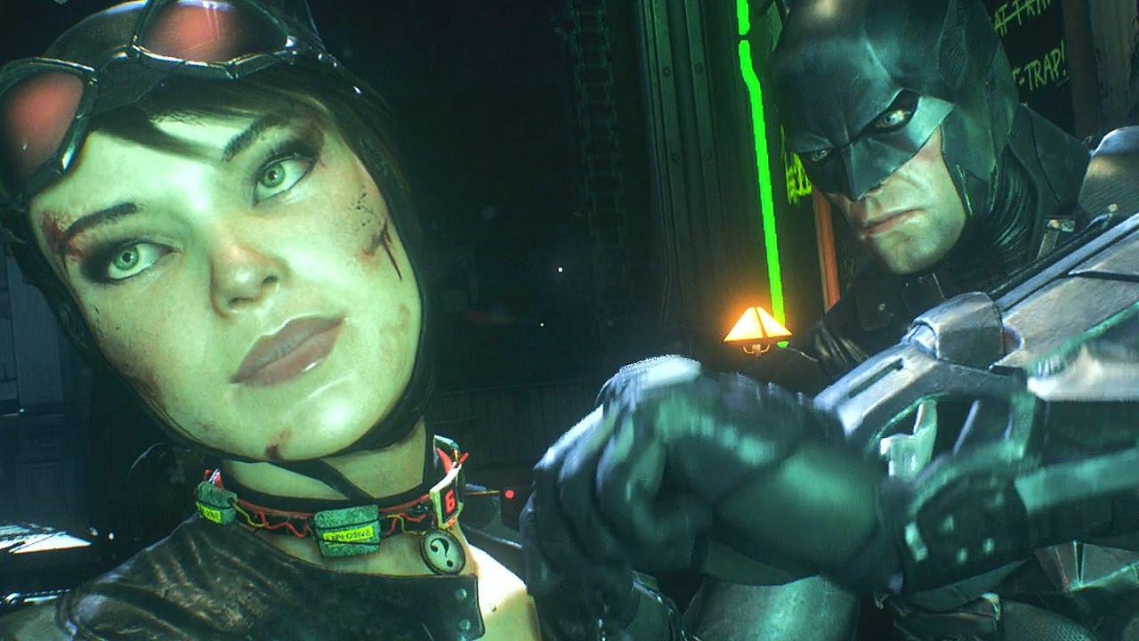 Batman Arkham Knight Riddler Catwoman
