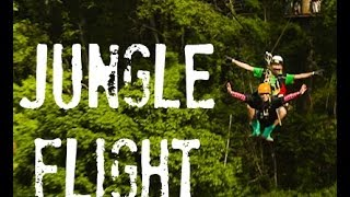 Experience Jungle Flight ! Best Zip lines adventure/Canopy tour in Chiangmai, Thailand