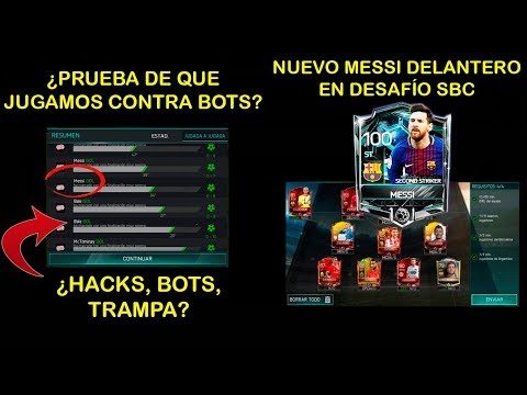 ¿Jugamos contra bots o son hacks + Nuevo Messi SBC   Fifa Mobile