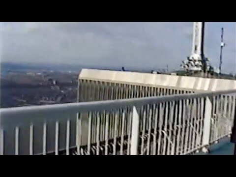 World Trade Center 107th Floor Observation Deck - Rare Footage (Part - 1)