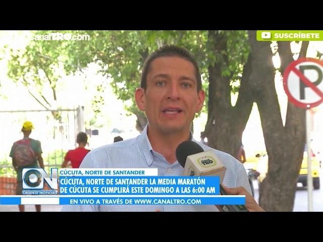 La media maratón de Cúcuta se cumplirá este domingo a las 6:00am