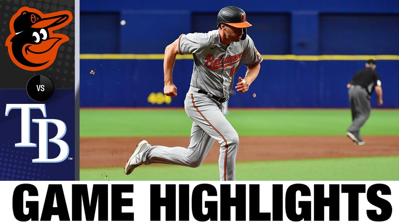 Download Orioles vs. Rays Game Highlights (7/19/21) | MLB Highlights