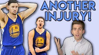 Doctor Reacts to Klay Thompson HAMSTRING Injury in NBA Finals