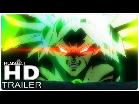DRAGONBALL SUPER BROLY Trailer Español Latino (2018)