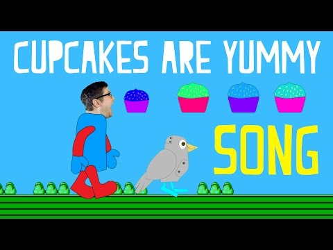 Cupcakes are Yummy | Cupcake Song for Kids | Funny Cupcake Video Games #cupcakes
