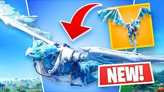 *NEW* LEGENDARY FROSTWING GLIDER!! (Fortnite Battle Royale)