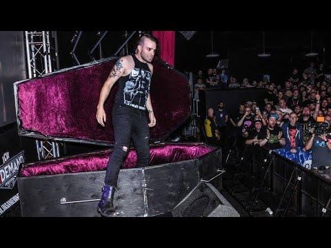 Jimmy Havoc Returns to ICW - in a coffin!