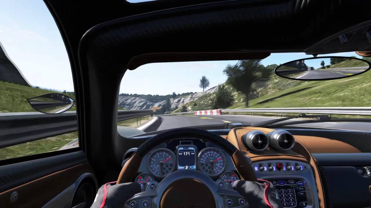 pagani huayra sound rev start 0-100 project cars - youtube
