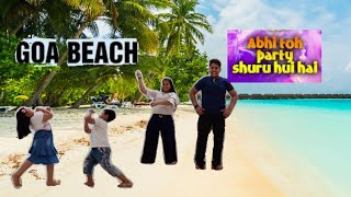 Mashup of Abhi To Party Shuru Hui Hai and Goa wale beach