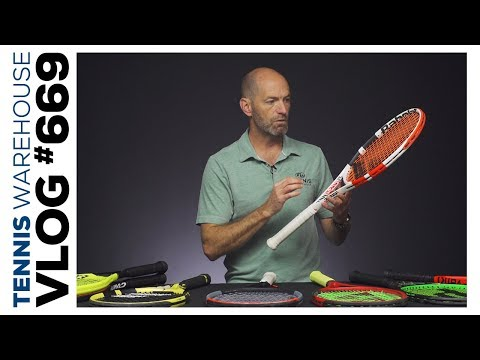 The Best Tennis Racquets Offering Massive Spin & Speed -- VLOG #669 🌪