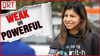 Why Do Girls Like POWERFUL BOYS ? | Dating Tips | Fashion Style Tips | Street Interview India