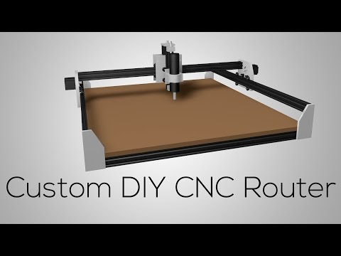 Custom DIY CNC ROUTER #1 - The Frame