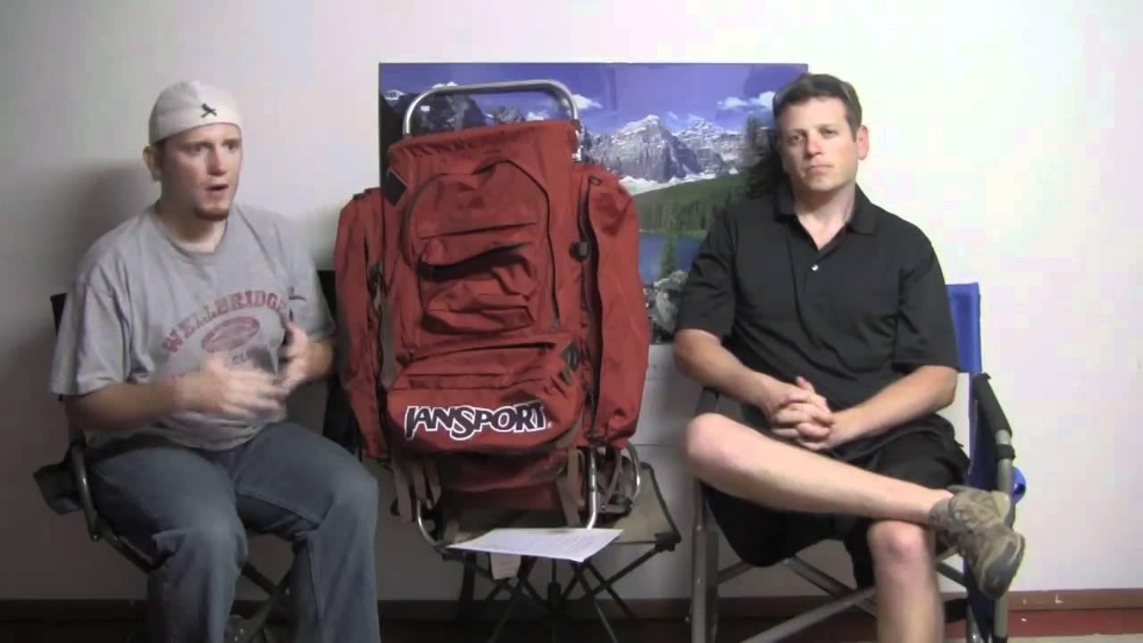 Jansport D2 External Frame Backpack Review - Episode 214 - YouTube
