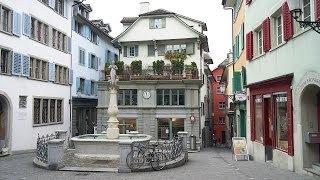 Zürich - Цюрих(Прогулка по центру Цюриха. Швейцария. Январь 2014. Музыка с сайта: http://www.youtube.com., 2014-05-29T05:44:03.000Z)