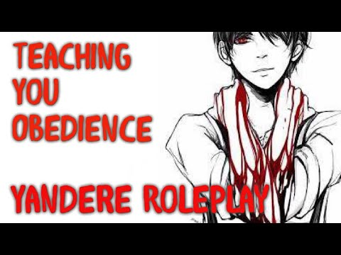 ASMR, Yandere Boyfriend Teaches You Obedience!