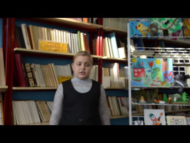 Изображение предпросмотра прочтения – ДарьяАкулова читает произведение «Синицы прилетели» А.Л.Барто