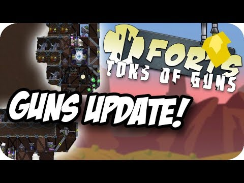 Forts Multiplayer 3v3 Gameplay ► NEW WEAPONS AND BUILDINGS! | Forts : Tons of Guns Update Preview