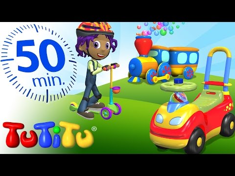 TuTiTu Specials | Toys on Wheels | Trucks, Cars and Many More Toys!