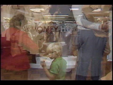 Archive video of Shillito's Dept. store