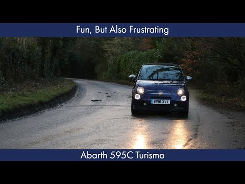 Fun, But Also Frustrating: Abarth 595C Turismo Review
