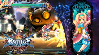 Blazblue Chrono Phantasma Extend Platinum The Trinity Arcade Mode!