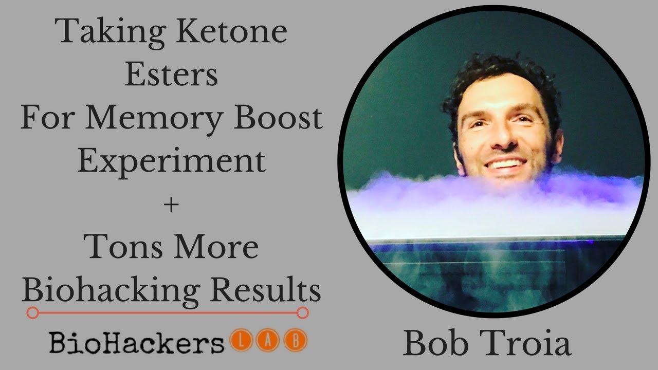 Taking Ketone Esters For Memory Boost Experiment (Quantified Bob