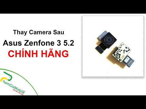Quá Trình Thay Sửa Asus Zenfone 3 5.2 Hư Hỏng Camera Sau