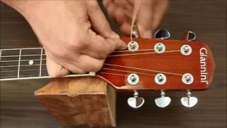Como trocar as Cordas de Violão Aço