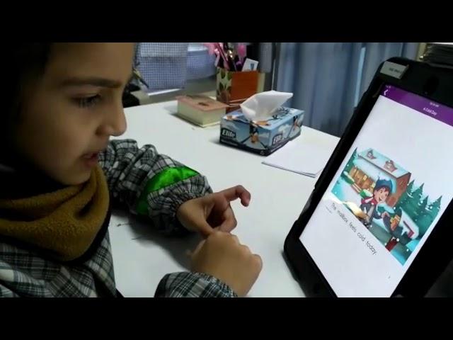 Kinder children can read! - Pumahue Huechuraba