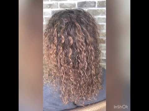 Биозавивка на тонкие и ломкие волосы от ISO Option / минск / до после