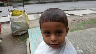 shuvam,s  hair cutting first time
