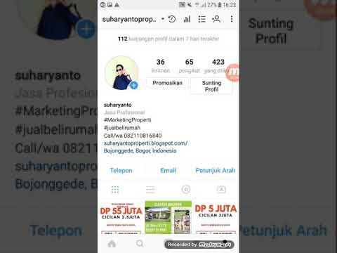 Cara Mudah Promosi Di Instagram Ads Dari Hp Android Youtube