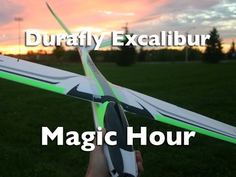 Magic Hour with the Durafly Excalibur