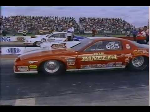 Drag Racing 1984 NHRA U S  Nationals PRO STOCK Round 2 and Semi Final Rounds