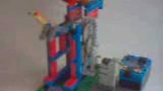 マインドストームでバッティングマシンを作りました。