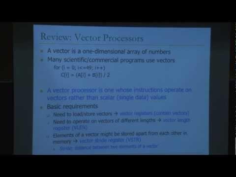 Lecture 19 - SIMD and GPUs - Carnegie Mellon - Computer Architecture 2013 - Onur Mutlu