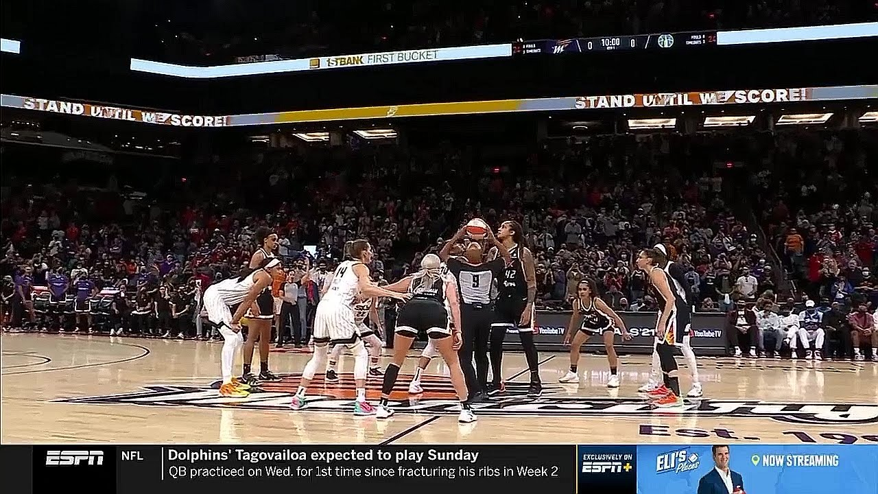 Download FULL PLAYOFF BASKETBALL GAME, WNBA FINALS GAME 2: Chicago Sky @ Phoenix Mercury | October 13, 2021