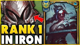 I TOOK MY KAYN INTO IRON 4 FOR THE FIRST TIME! RANK 1 KAYN WORLD VS ELO HELL! - League of Legends