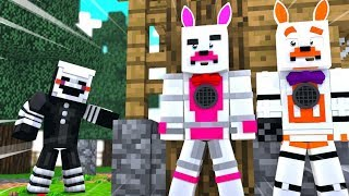 Party Games Adventure (Minecraft Fnaf Roleplay Adventure)