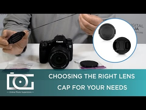 LENS CAP TUTORIAL | Snap On & Center Pinch Lens Caps for NIKON CANON & Other DSLR Cameras
