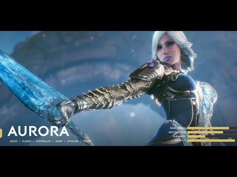 Epic Games Paragon Open Beta Gameplay - Third Person POV MOBA