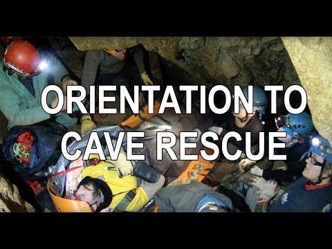 Cave Rescue Training