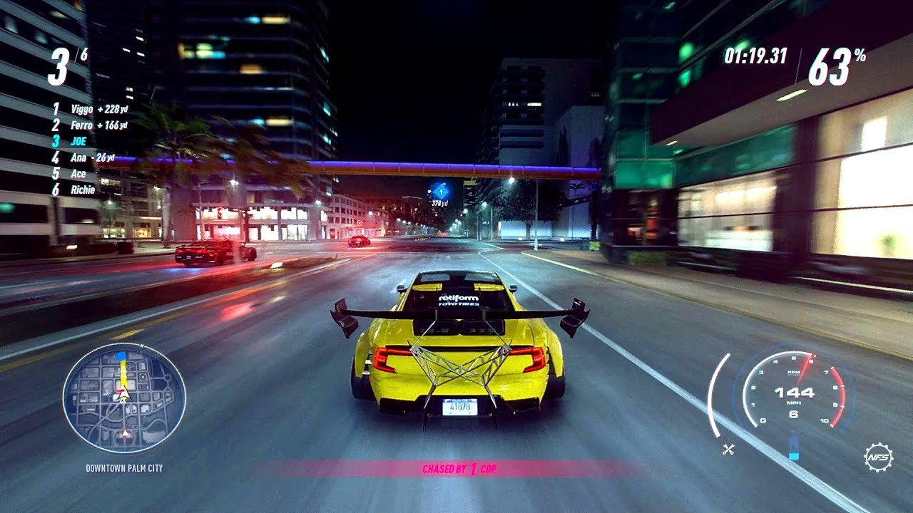 Need For Speed Heat 1st 33 Minutes Of Gameplay Xbox One X Hd