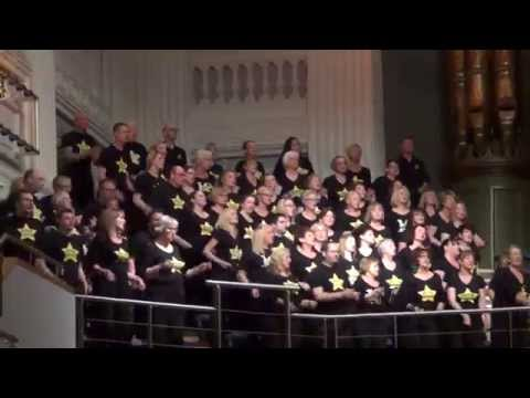 Rock Choir perform Rather Be in Birmingham on the G4 Reunion Tour.
