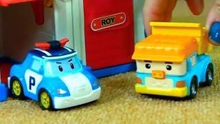 Робокар Поли. Игрушечные Машинки. Грузовичок Дампу