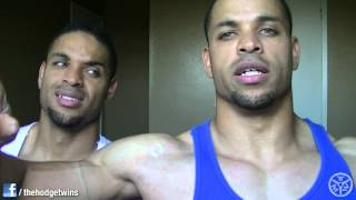 Tmw: Big Arms (triceps) Flat Underdeveloped Chest Problem...... @hodgetwins