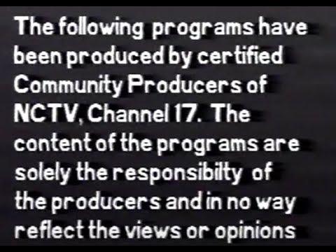 Naperville Community Television NCTV Studio Series #14 3/8/1989
