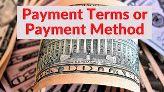 S.#3 Payment Terms in International Trade in URDU / HINDI अंतर्राष्ट्रीय व्यापार में भुगतान की विधि